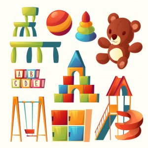set-cartoon-toys-children-playground-kindergarten