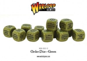 GREEN Order Dice