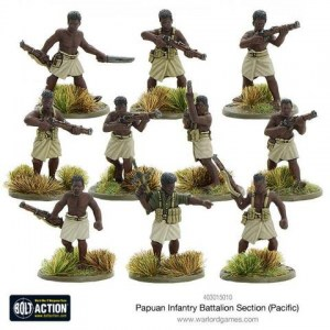 PAPUAN Infantry